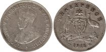 Australia 3 Pence 1912 - George V - Silver 2nd