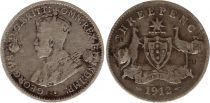 Australia 3 Pence 1912 - George V - Silver