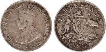 Australie 3 Pence 1926 - George V - Argent