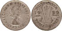 Australia 3 Pence 1959 - Elisabeth II- Argent