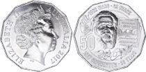 Australia 50 Cents Elisabeth II - Eddie Mabo - 2017