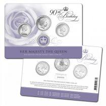 Australia BU.2016 Proof set 3 coins 90 ans Elizabeth II - 2016