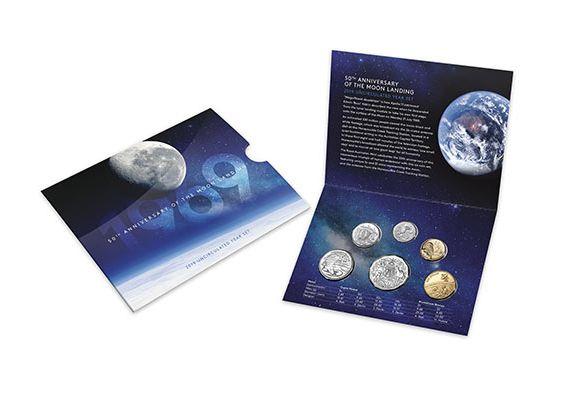 Australia Uncirculated set 2019 - 1969-2019 - 50 th birthday of the Moon landing