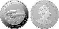 Australie 1 Dollar Dauphins- 1 Once Argent 2021