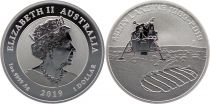 Australie 1 Dollar Elisabeth II - 50 ans Alunissage 2019 - 1 Once 2019