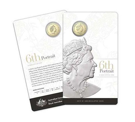 Australie 1 Dollar Elisabeth II - 6ème Portrait 2019