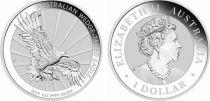 Australie 1 Dollar Elisabeth II - Aigle Once 2019 - Argent