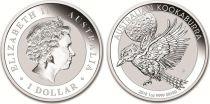 Australie 1 Dollar Elisabeth II - Kookaburra - 1 Once Argent 2018