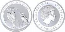 Australie 1 Dollar Elisabeth II - Kookaburra Australie 1 Oz 2017