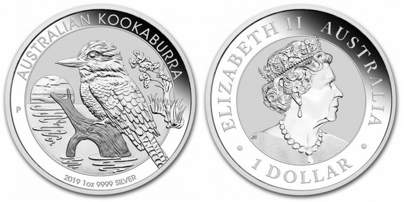 Australie 1 Dollar Elisabeth II - Kookaburra Once 2019 - Argent