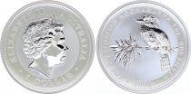Australie 1 Dollar Elisabeth II - Kookaburra Once Argent 2000