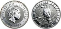 Australie 1 Dollar Elisabeth II - Kookaburra Once Argent 2009