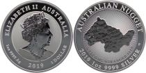 Australie 1 Dollar Elisabeth II - Welcome Stranger Nugget - 1 Once 2019
