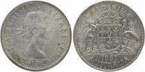 Australie 1 Florin Elizabeth II - Argent - 1953
