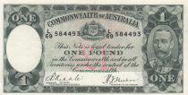 Australie 1 Pound George V - 1933 - TTB - P.22