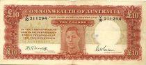 Australie 10 Pounds George VI - Travailleurs