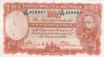 Australie 10 Shillings George V - 1936 - TB - P.21