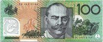 Australie 100 Dollars John Mona - Mellie Melba - 2014 Neuf Polymer