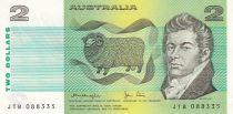 Australie 2 Dollars  ND1979 - MacArthur, mouton, épis de blé