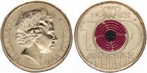 Australie 2 Dollars Elisabeth II - Armistice - 2018 Colorisée