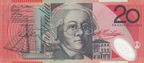 Australie 20 Dollars Mary Reibey - John Flynn - 2008 - P.59 - Neuf - Polymer