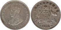 Australie 3 Pence 1912 - George V - Argent 2ème ex.