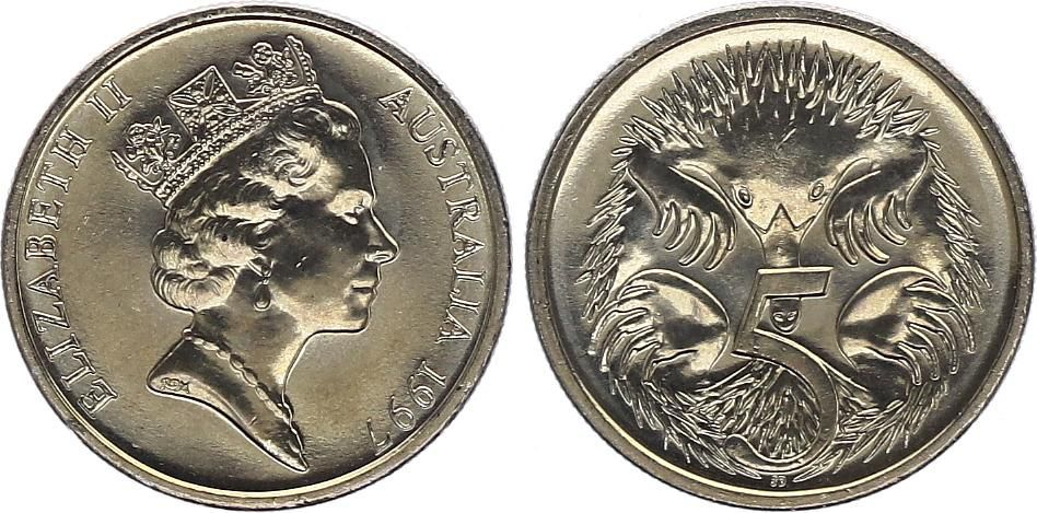 Australie 5 Cents