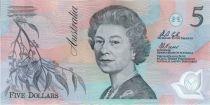 Australie 5 Dollars Elisabeth II - Parlement - 1992 Polymer