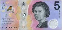 Australie 5 Dollars Elisabeth II - Parlement - 2016 Polymer