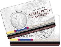 Australie 50 Cents Australie en Guerre - Campagne de Gallipoli 2014