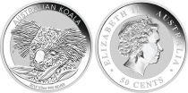 Australie 50 Cents Elisabeth II - Koala 1/2 Once Argent 2014