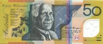 Australie 50 Dollars Edith Cowan - David Unaipon - 2008
