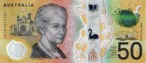 Australie 50 Dollars Edith Cowan - David Unaipon - 2018 Polymer - Neuf