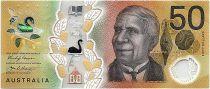 Australie 50 Dollars Edith Cowan - David Unaipon - 2018 Polymer - SPL