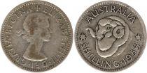 Australien 1 Shilling 1953 -  Elisabeth II - Silver