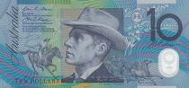 Australien 10 Dollars B. Paterson, horse - M. Gilmore - 2008 Polymer