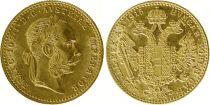 Austria 1 Ducat Franz Joseph I 1915 (Restrike 1915 to 1936) Gold
