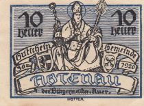 Austria 10 Heller - Abtenau - 1920
