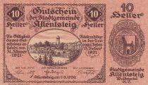 Austria 10 Heller - Allentsteig- 1920