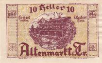 Austria 10 Heller - Altenmarkt Triesting - 1920