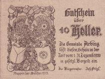 Austria 10 Heller - Arbing- 1920