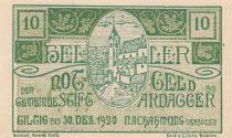 Austria 10 Heller - Ardagg - 1920