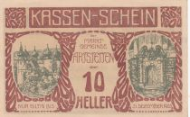 Austria 10 Heller - Artstetten - 1920