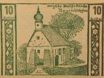 Austria 10 Heller, Niederneukirchen - notgeld 1920 - aUNC