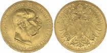 Austria 10 Korona Franz Joseph I - Eagle - 1912