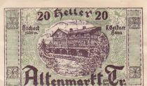 Austria 20 Heller - Altenmarkt Triesting - 1920