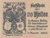 Austria 20 Heller - Arbing- 1920