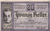 Austria 20 Heller - Aurolzmunster - 1920