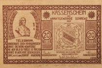 Austria 20 Heller, Schrems - notgeld 1920 - UNC