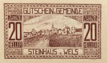 Austria 20 Heller, Steinhaus - notgeld 1920 - AU